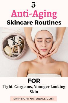 Anti-Aging Skincare Routines | If you struggle with how to get rid of dark spots and need an anti-aging skincare routine that really works, these amazing skincare procedures can help you get younger looking skin like A-list celebrities! Click to learn these 5 amazing anti-aging skincare routine for tight, gorgeous, and younger-looking skin. #antiaging #antiagingskincare #skincareroutine #getridofdarkspots #antiagingskincareroutine #youngerlookingskin #skintightning #skincare #skintightnaturals