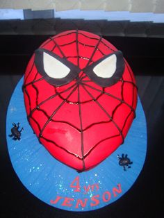 Galert Cake Designs Birthday » Themed Cakes Spiderman