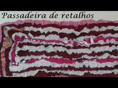 Passadeira de retalhos (passo a passo) - YouTube