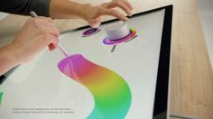 Is the Surface Dial the Tool You Didn't Know You Needed? Surface Studio, New Surface, Surface Pro 3, Wattpad, Digital Tablet, Microsoft Surface, Pretty Cool, Creative, Workspaces