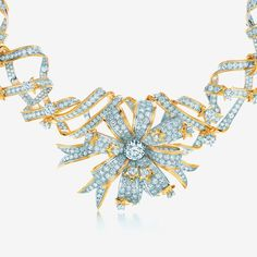 Tiffany & Co.  This legendary Jean Schlumberger design has been exhibited at the Louvre Museum in Paris and worn by Hollywood stars.