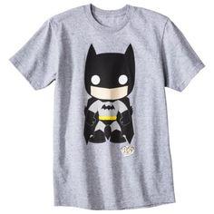 Batman Men's Graphic Tee - Heather Gray