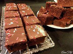 Coca-cola kakku Coca Cola, Brownies, Brownie Ice Cream, Chocolate, Stockholm, Gluten Free, Cookies, Desserts, Recipes