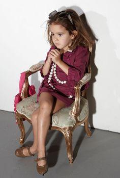 Lanvin Petite; this little girl shut it down!