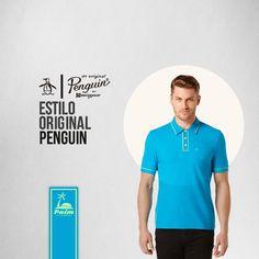 Viste diferente, sé original. #BeAnOriginal Polo Original Penguin U$45 Precio neto.  *Envío gratis a todos los departamentos.