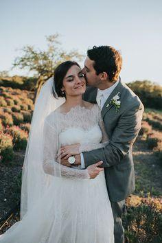 Romantic Garden Wedding at Rancho Mirando by Amber Vickery Snippet & Ink