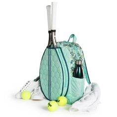 Tennis Backpack – cinda b Tennis Pictures, Beach Tennis, Tennis Funny, Tennis Bags, Tennis Fashion, Rackets, Tennis Racket, Bucket Bag, Casual Shoes