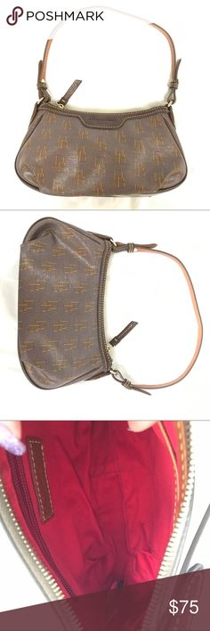 Dooney & Bourke Brown Gold Red Small Should Bag To be Written. Bundle to save 20% on your order and I love offers! Dooney & Bourke Bags Mini Bags