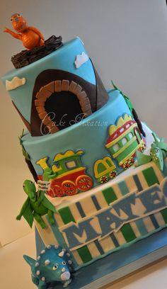 All sizes | Mateo's Dinosaur Train Cake | Flickr - Photo Sharing!