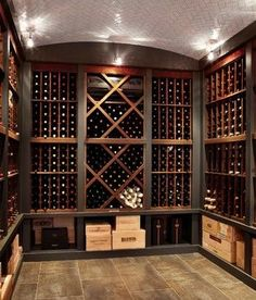New Photos - traditional - wine cellar - chicago - LG Construction + Development & Basement Renovation: The Inspiration | Oliver u0026 Belle | The Good ...