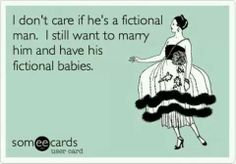 Marry a fictional character and have his fictional babies, lol