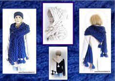 Patroon Exclusief bij ons verkrijgbaar : Hoody Moody is een patroon van een capuchon-shawl in dikkere wol gebreid in kabel- en gerstekorrel motief en jumbo-noppen voorzien van kwastjes.http://www.ravelry.com/patterns/library/hoody-moody