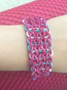 Rainbow loom triple created by me (staybeautifuly)