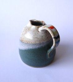 Dinky ceramic jug - handmade pottery