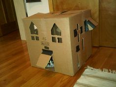"""Cats can live in a classy house of their own, if you're willing to """"build"""" it!!!"""