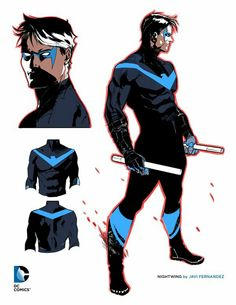Excited for the DC comics Rebirth issues of Nightwing. Finally back to the black and blue.
