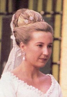 """Cristina nació en Madrid y esta casada con Pedro López-Quesada, pertenecen al circulo de amigos intimos del Principe y las Infantas. Se casó en su finca de """"La Toledana"""""""