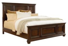 Vineyard Queen Panel Bed by Standard Furniture King Beds, Queen Beds, Bedroom Bed, Bedroom Furniture, Roll Away Beds, Bed Dimensions, Stylish Beds, Queen Bedding Sets, Panel Bed