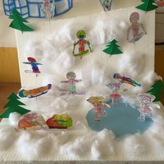 Winter Art, Fun Crafts For Kids, Winter Olympics, Christmas Activities, Olympic Games, Kindergarten, Carnival, Preschool, Projects To Try