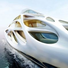 Superyachts by Zaha Hadid  for Blohm+Voss...wait - that's a yacht?!?!