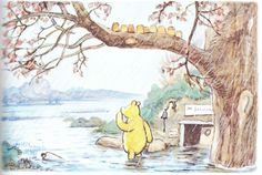 Winnie The Pooh Illustrations E. H. Shepard Illustration by e h shepard