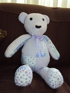 Urso em patchwork