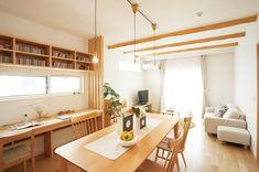 写真ギャラリー 建築事例 注文住宅 ダイワハウス Living Room, Interior Design, Table, Furniture, Home Decor, Ideas, Nest Design, Decoration Home, Home Interior Design