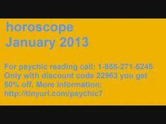 Aquarius horoscope January 2013 monthly astrology zodiac psychic phone readings