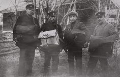 Kuva > Vuonna 1923 postinjakajat kulkivat jalkaisin.