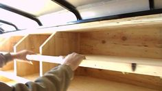 I made this little video in case someone needed some ideas on how to build and layout tool storage shelves in a cargo trailer, job trailer. Trailer Shelving, Trailer Storage, Truck Storage, Custom Trailers, Cargo Trailers, Utility Trailer, Camper Trailers, Travel Trailers, Work Trailer
