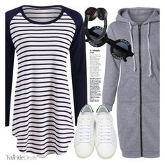 """""""Casual day"""" by vanjazivadinovic ❤ liked on Polyvore featuring Yves Saint Laurent, Chanel, Beats by Dr. Dre, polyvoreeditorial and twinkledeals"""