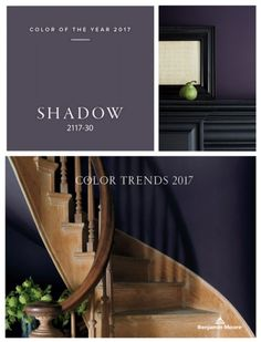 2017 Benjamin Moore Color of the Year Maybe use Cloudberry for the master bedroom?