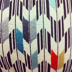 Pattern inspiration. // pillow from Target