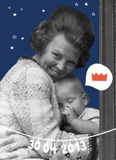Nog één nachtje slapen #kroning by Studio Sjoesjoe Blue Orange, Orange Color, Dutch Princess, Dutch Netherlands, Dutch Royalty, Sweet Memories, Print Pictures, Holland, The Past