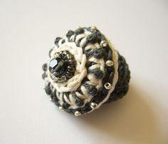 Ringe - ○ AugustWolke Häkelring ○ - ein Designerstück von crochet bei DaWanda