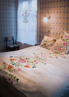 """""""Oda"""" duvet cover in eco-cotton – Bathroom – GUDRUN SJÖDÉN – Webshop, mail order and boutiques 