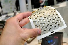 Fujifilm breaks record with thermoelectric material, potential to turn body heat into power. Wearable Technology, Digital Technology, New Technology, Futuristic Technology, Tech Gadgets, Cool Gadgets, Organic Polymer, E Textiles, Biomes