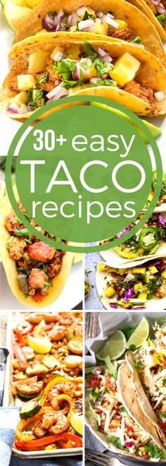Oct. 4th is National Taco Day! Celebrate with our #SundaySupper easy taco recipes! You will always be prepared with a wide variety of recipes each week for #TacoTuesday. From soft shells or hard shells to no shells at all, our collection of easy taco recipes will bring the whole family to the dinner table.