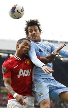 Manchester United vs Manchester City Haha and this picture :D can't do anything but laugh about it.