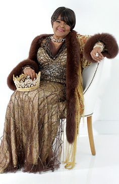 "Shirley Caesar, aka ""First Lady of Gospel Music"", Gospel music singer, songwriter, recording artist, & pastor. With a career that has spanned over 6 decades, she has won or received 11 Grammys, 13 Stellar Awards, 18 Doves, an Essence Award, McDonald's Golden Circle Lifetime Achievement Award, NAACP Achievement Award, SESAC Lifetime Achievement Award, as well as induction into the Gospel Music Hall of Fame. She also pastors the Mount Calvary Word of Faith Church in Raleigh, NC."