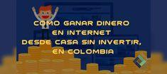Marketing Digital, Home, Earn Money Online, How To Earn Money, Colombia