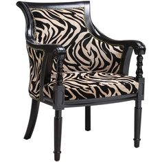 Bring rich, well-travelled appeal to your living room, dining room, or library with this exotic arm chair from Stein World. A gorgeous blend of British Colonial and safari chic, this decadent design showcases soft, zebra-print upholstery, elegantly scrolling arms, and an enveloping barrel back, offering an ideal oasis to peruse your favorite travel magazines.