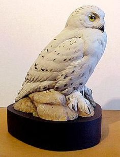 Carved Snowy Owl Different Birds, Wise Owl, Snowy Owl, Wood Carvings, Wood Sculpture, Wood Work, Wood Burning, Driftwood, Owls