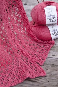 Cascade Forest Hills Lace Scarve