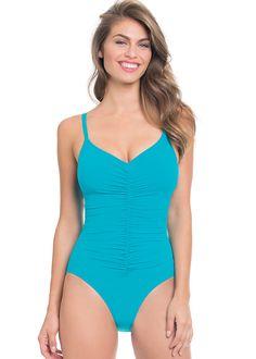 Gottex Profile Swan Lake Control Swimsuit