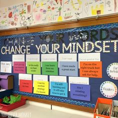 """371 Likes, 14 Comments - Nichole (@youclevermonkey) on Instagram: """"Change your words. 👍🏼 Change your mindset. 👊🏼 #frommyclassroom #iteachtoo #aussieteacher…"""""""
