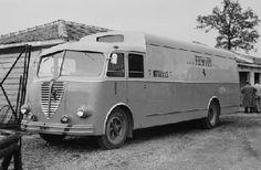 Alfa Romeo-made Ferrari works team transporter.jpg