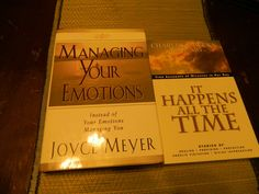 Joyce Meyer Book- Managing Your Emotions
