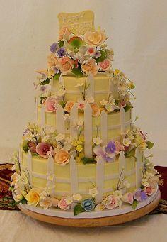 Flower Garden Cake by cdgleason, via Flickr
