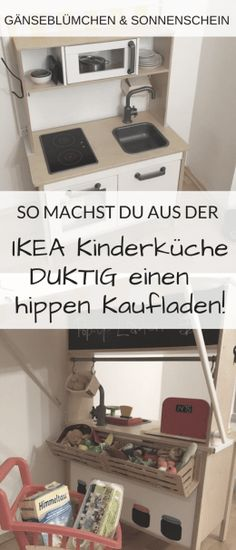 Kinderzimmer The ultimate IKEA hack, Papa builds a shop from the DUKTIG! In this tutorial, he reveal Bedroom Hacks, Ikea Bedroom, Kitchen Shop, Ikea Kitchen, Kitchen Racks, Kitchen Tips, Retro Furniture, Ikea Furniture, Furniture Dolly